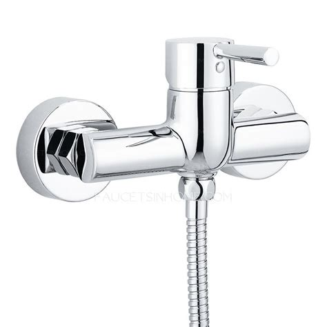 luxury silm efficient top shower faucet set