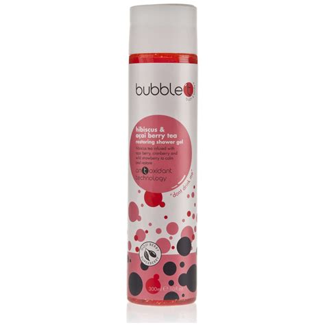 does shower gel work as bath t bath and shower gel in hibiscus and acai