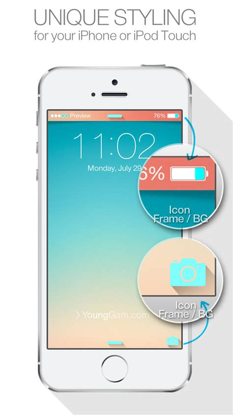 themes status bar iphone status bar themes for ios7 lock screen iphone new