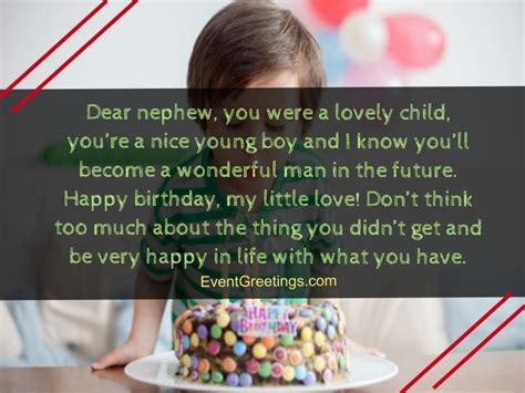 60 Exclusive Happy Birthday Nephew Wishes And Quotes With