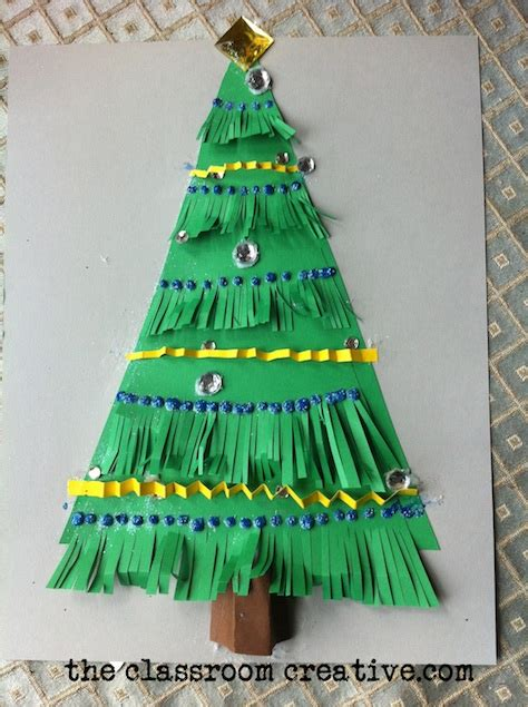 arts and crafts christmas tree images