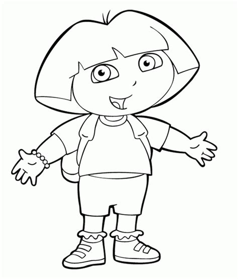 coloring pages with dora the explorer kids n fun com 84 coloring pages of dora the explorer