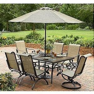 Patio Furniture With Umbrella Strathmore 9 Ft Umbrella Smith Today Outdoor