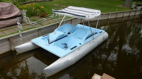 pontoon paddle boat prices sea ryder pontoon pedal boat 650 pinckney boats for