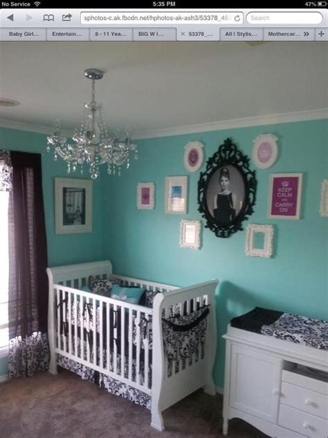 tiffany and co bedroom tiffany and co baby room i just really love the color maybe baby pinterest