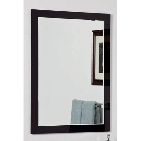 aris modern bathroom mirror walmart