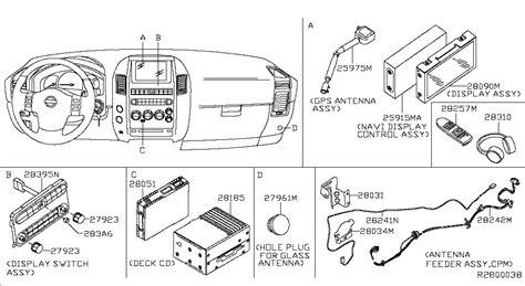 2006 nissan armada factory stereo wiring diagram 2006