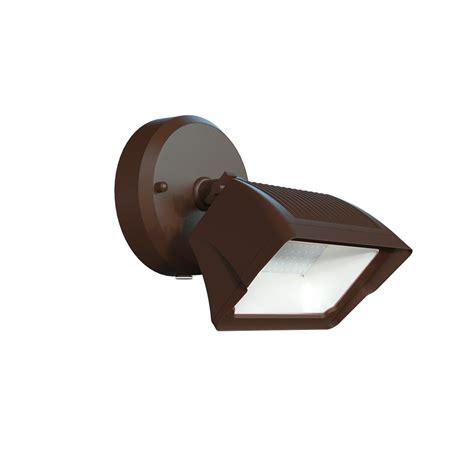 Defiant Outdoor Light Defiant 1 Light Integrated Led Outdoor Bronze Dusk To Security Flood Light Dw8938abz B