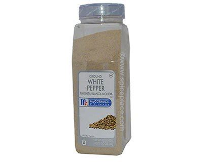 mccormick white pepper ground 18 oz 510g 32 83usd spice place