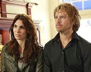 hot chick on ncis los angeles ncis la season 3 kensi and deeks pose as married couple