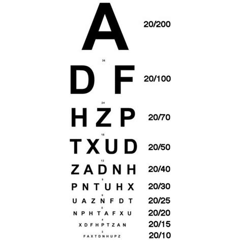 printable eye test chart australia ophthalmic snellen vision chart downloadable graphic