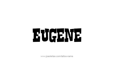 tattoo name komal eugene name fhoto