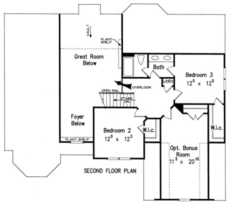 Sullivan Floor Plan | j david lee builders custom homes sullivan