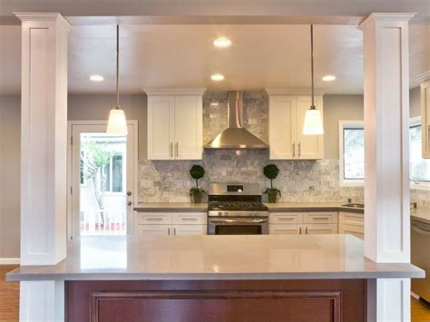 kitchen island with columns 54 best house design images on for the home