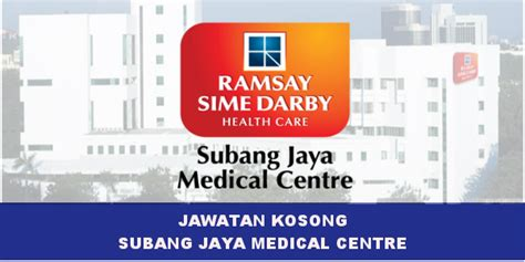 jawatan kosong subang jaya centre sjmc