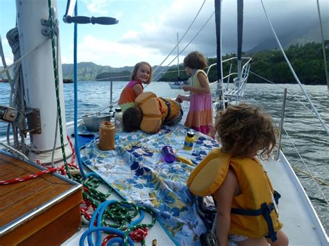 catamaran sailing family family life living aboard a sailboat traveling the world