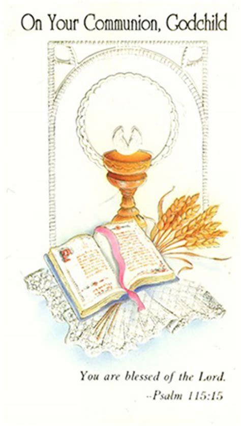 Polish Art Center   First Communion Card   Godchild