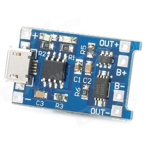 Gratis Ongkir 5v Micro Usb 1a 18650 Lithium Battery Charging Board placa de carga de bateria de l 237 tio mp1405 5v 1a azul
