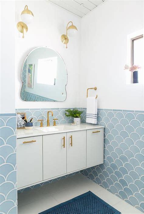 bathroom in blue blue and gold bathroom design contemporary bathroom