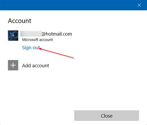 Apps Email Log Search Use Different Email Account To Sign In To Windows 10 Store