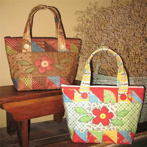 scrappy sack moda charm pack tote bag quilt pattern ebay