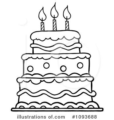 birthday cakes simple birthday cake coloring page birthday cake clip art black and white pictures images and