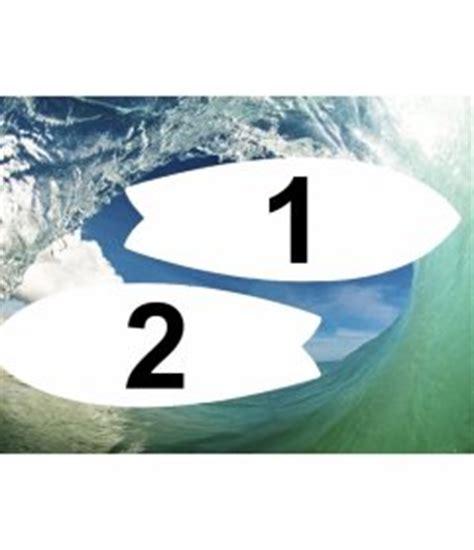 modifica foto cornici colagem de ondas e surf entre duas molduras em forma de