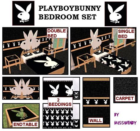 playboy bunny bedroom set the sims zone news archive