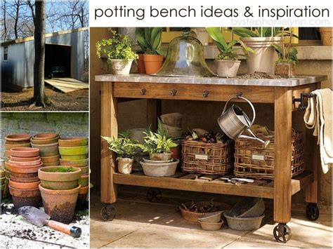 potting bench ideas 10 potting bench ideas with free building plans tuesday ten