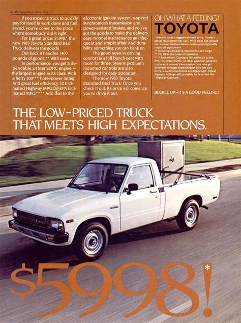 vintage toyota ad 100 vintage toyota truck toyota pickup information