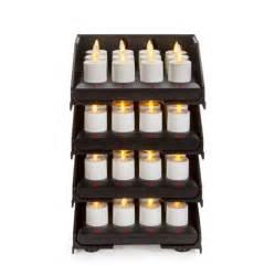 Luminara Tea Lights by Luminara Rechargeable Tea Lights Set Of 48 With Stacked