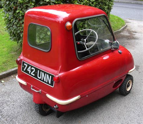 smallest cars p50 peel world s smallest production car information