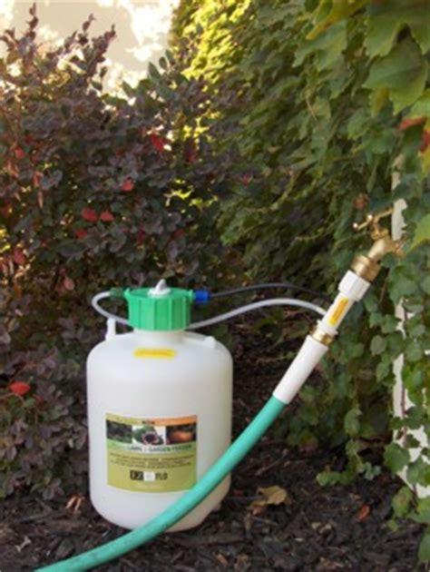 Garden Hose Nutrient Injector Fertilizer Injector Fertilize Your Garden While You Water