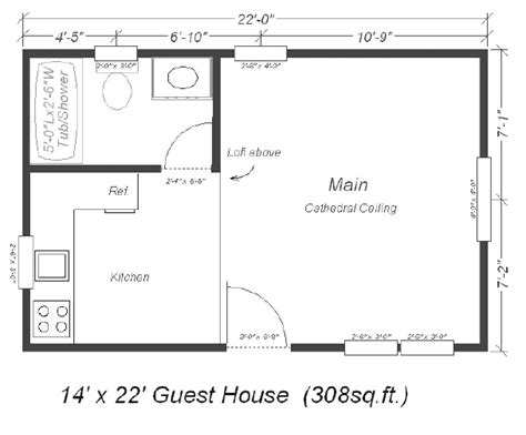 backyard casita plans selaro floor plans