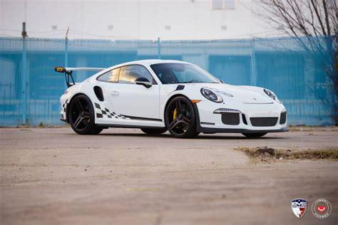 Wheels Porsche 911 Gt 3 Rs porsche 911 gt3 rs rides on vossen wheels gtspirit