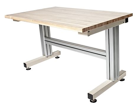 adjustable height work table cantilever manual adjustable height work table frame