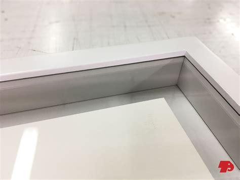cornice con vetro cornice galleggiante con vetro teknoplast advanced s r l
