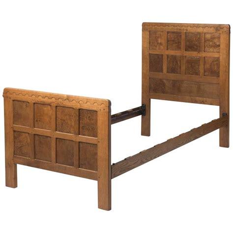oak twin bed robert mouseman thompson oak twin bed quot fjb quot england circa