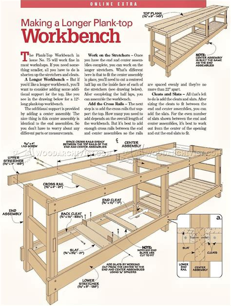 heavy duty work bench plans woodworking bench plans материалы раздела 9