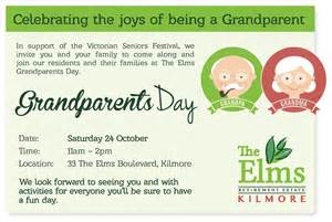 grandparents day template you re invited to the elms grandparents day