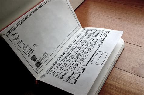 How To Make A Paper Laptop - jannah think back