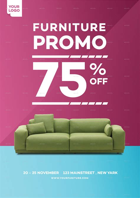 home furniture promo flyer by tokosatsu graphicriver