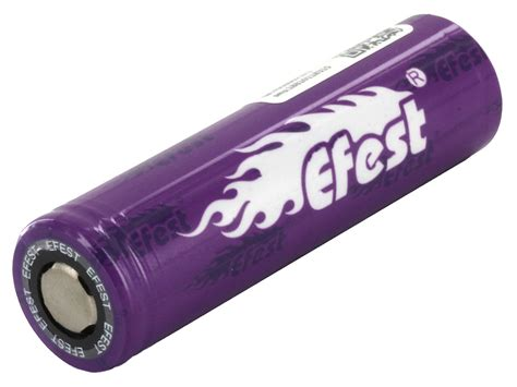 Efest Purple Imr 18650 Li Mn Battery 2100mah 37v 30a With Button Top efest purple imr 18650 high drain 38a rechargeable battery