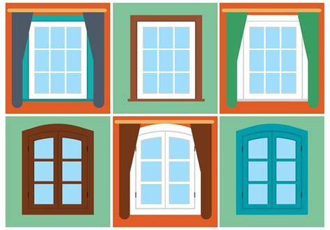 clipart windows free vector vintage window set free vector
