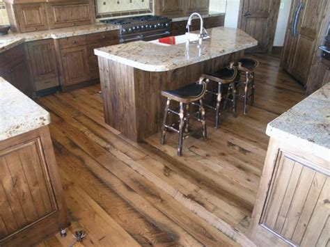 Wood Flooring In Kitchen by Green Kitchens Sustainable Flooring