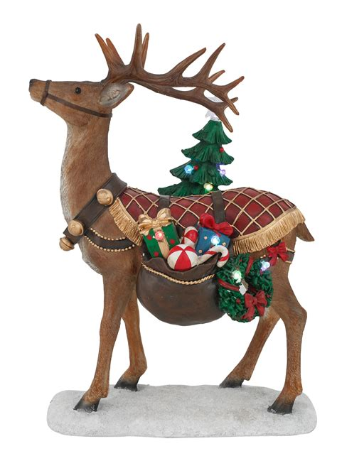 reindeer with toys tree light up 4 you