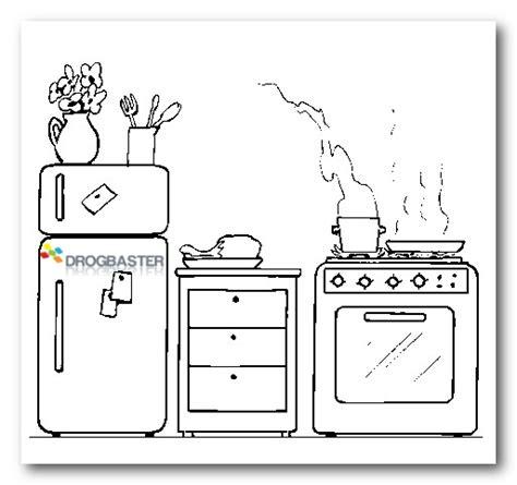 cucina da colorare disegni per bambini da colorare e stare gratis