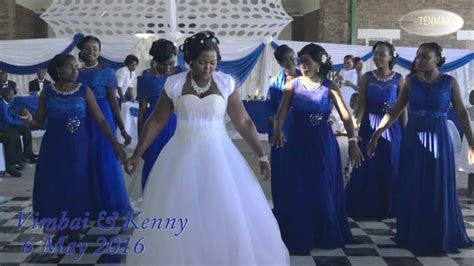 "Zim Wedding dance   Vimbai and Kenny""s Wedding   Nehanda TV"