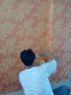 wallpaper dinding solo harga termurah price list bahan material mandor