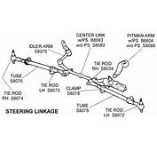 Steering Linkage  Diagram View Chicago Corvette Supply